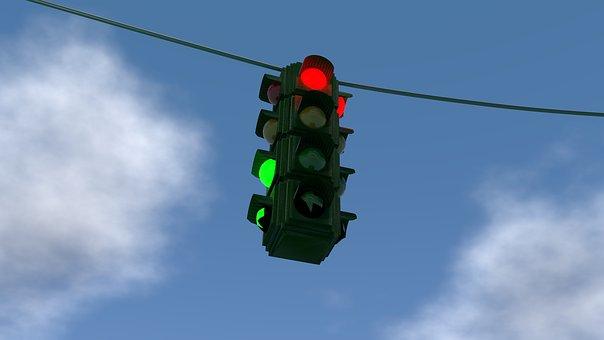 Traffic Lights, Red, Yellow, Green