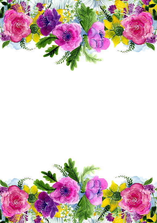 Frame Flower Decoration · Free image on Pixabay