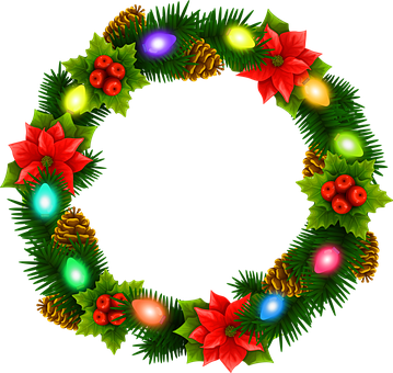 Christmas Wreath Clipart.400 Free Christmas Wreath Christmas Images Pixabay