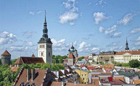 Эстония, Таллин, Исторический Центр