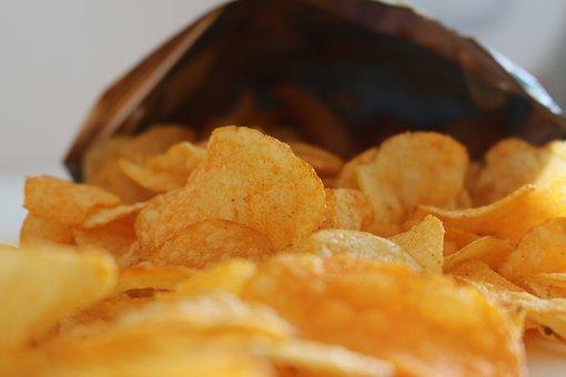 Chips, Crisps, Snack, Pepper, Potato