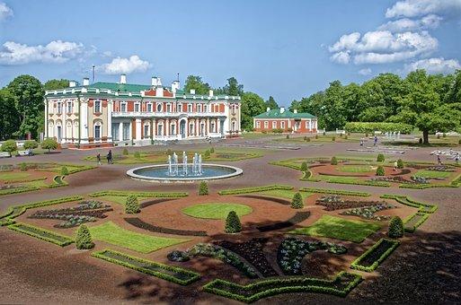 Estland, Tallinn, Schloss Katharinental