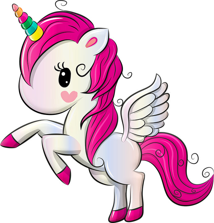 Unicorn Rainbow Pegasus 183 Free Image On Pixabay