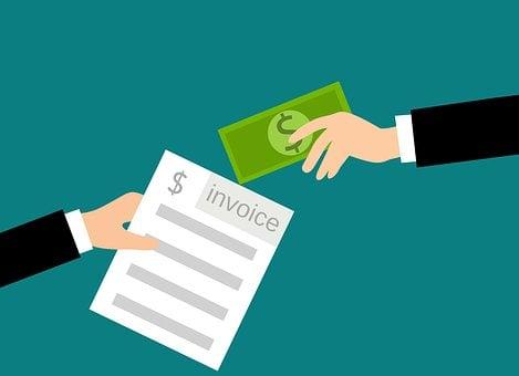 Invoice, Cash, Payments, Concept