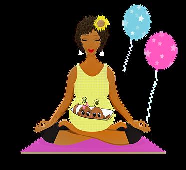 Donna In Gravidanza, Yoga