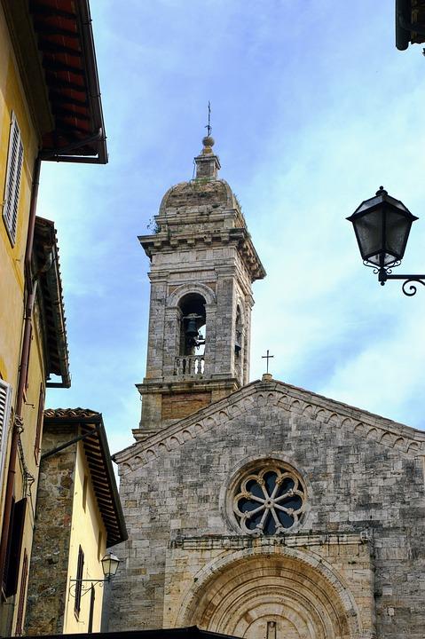 Chiesa, Campanile, Italia, Architettura, Costruzione