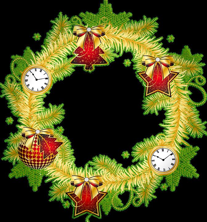 Christmas Wreath Images Free.Christmas Wreath Free Image On Pixabay
