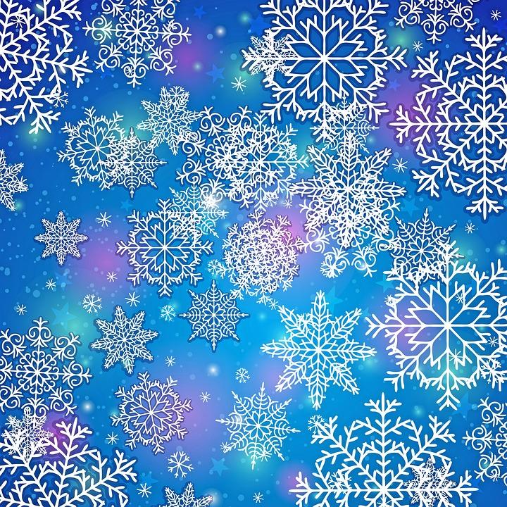 Schneeflocke Hintergrund Blau · Kostenloses Bild auf Pixabay