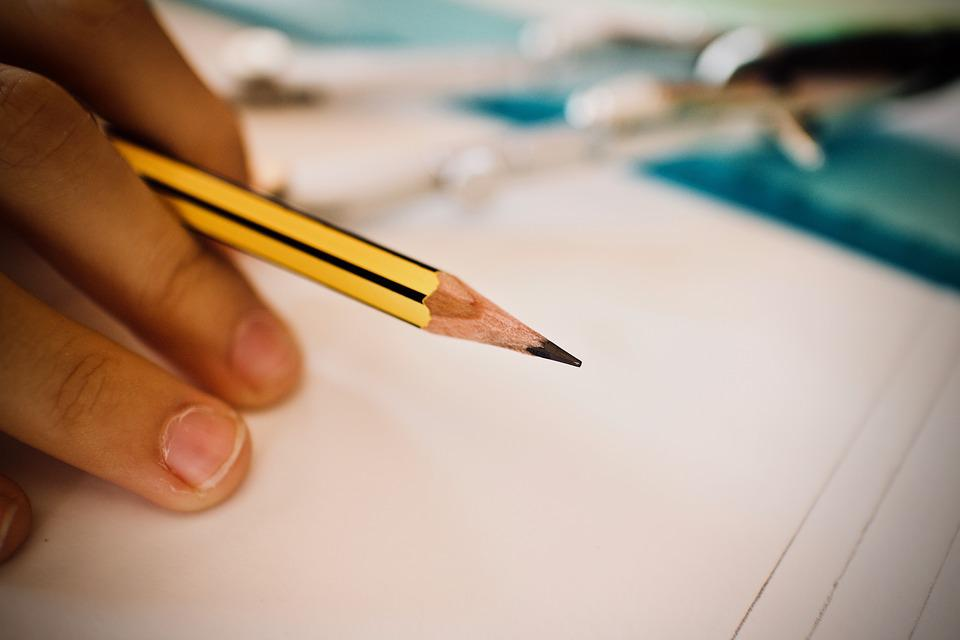 Lápiz, Regla, Escuela, Creativa, Dibujo, Trabajo