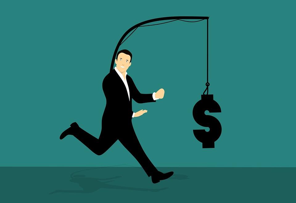 追いかけて, お金, 実行, しよう, キャッチ, フック, ファイナンス, モチベーション, 富
