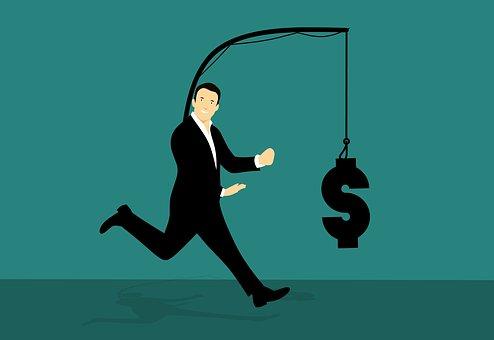 追いかけて, お金, 実行, しよう, キャッチ, フック, ファイナンス