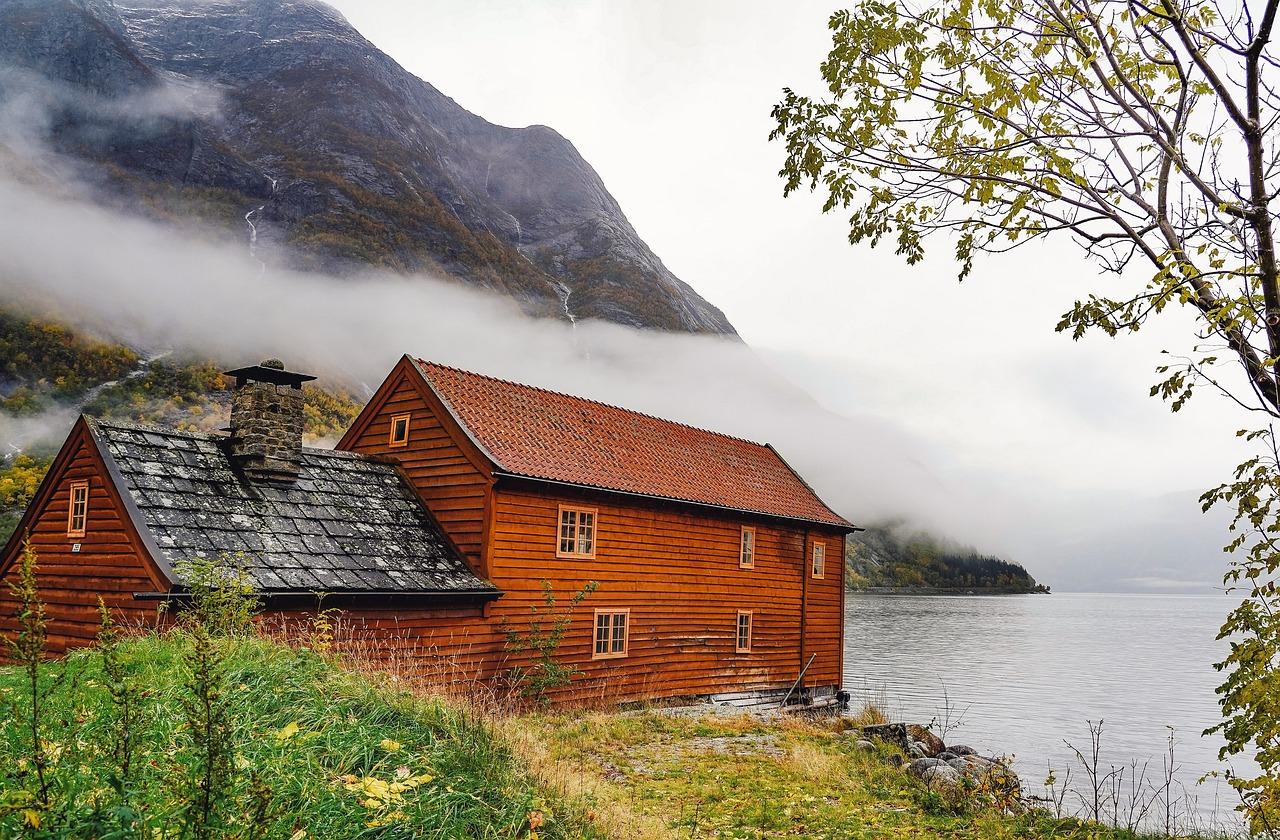 Дома норвегии картинки