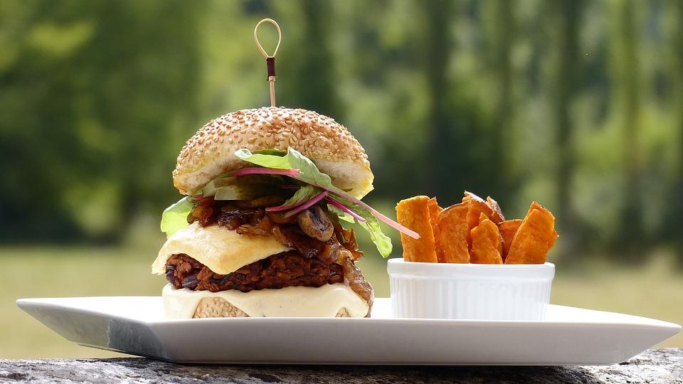 Burger, Veggie, Vegetarianer, Vegetar, Vegansk