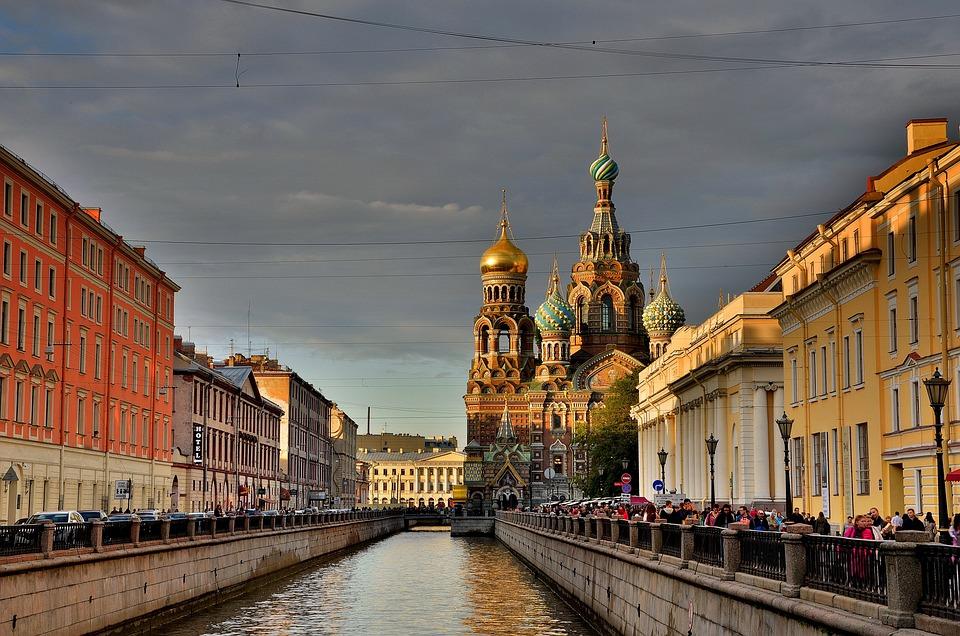 San Pietroburgo Russia, Peter, Russia, Architettura