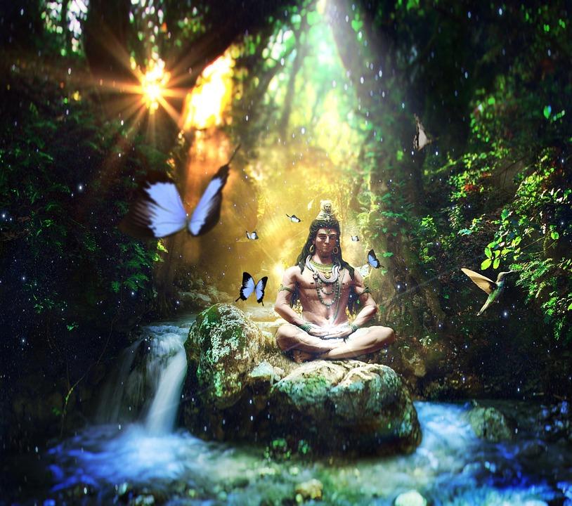 Shiva, Boeddha, Welzijn, Yoga, Ontspanning, Emotie