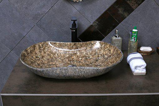 Stone Textured Basin, Wash Basin