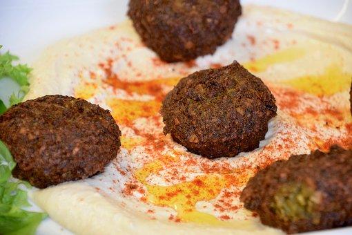 Falafel, Humus, Smoked Paprika