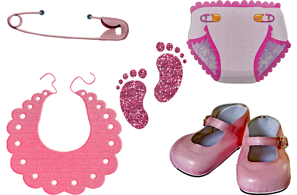 491228e7a9457 Baby Girl Clothes, Diaper, Baby Shoes, Girl Pink