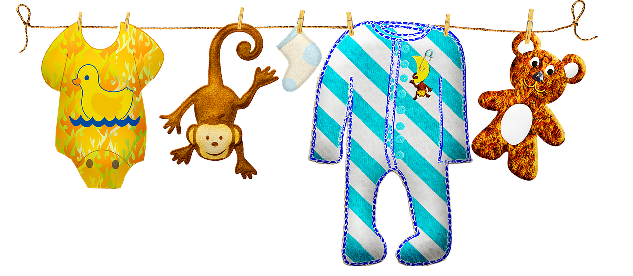 Baby Boy Clothesline Clothes - Free image on Pixabay