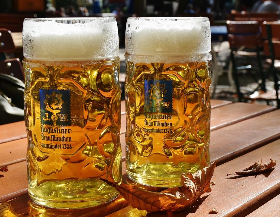 Пиво, Измерить Пиво, Пивная Кружка, Ячменный Сок