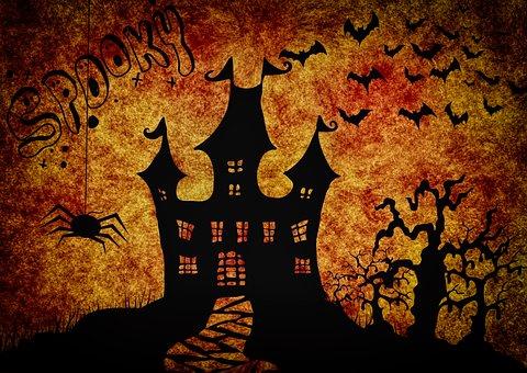 Halloween, Estranho, Surreal, Atmosfera