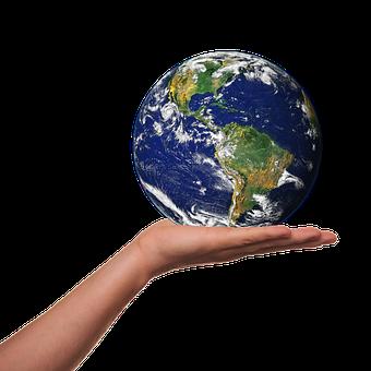Ambiente, Protezione, Terra, Globo