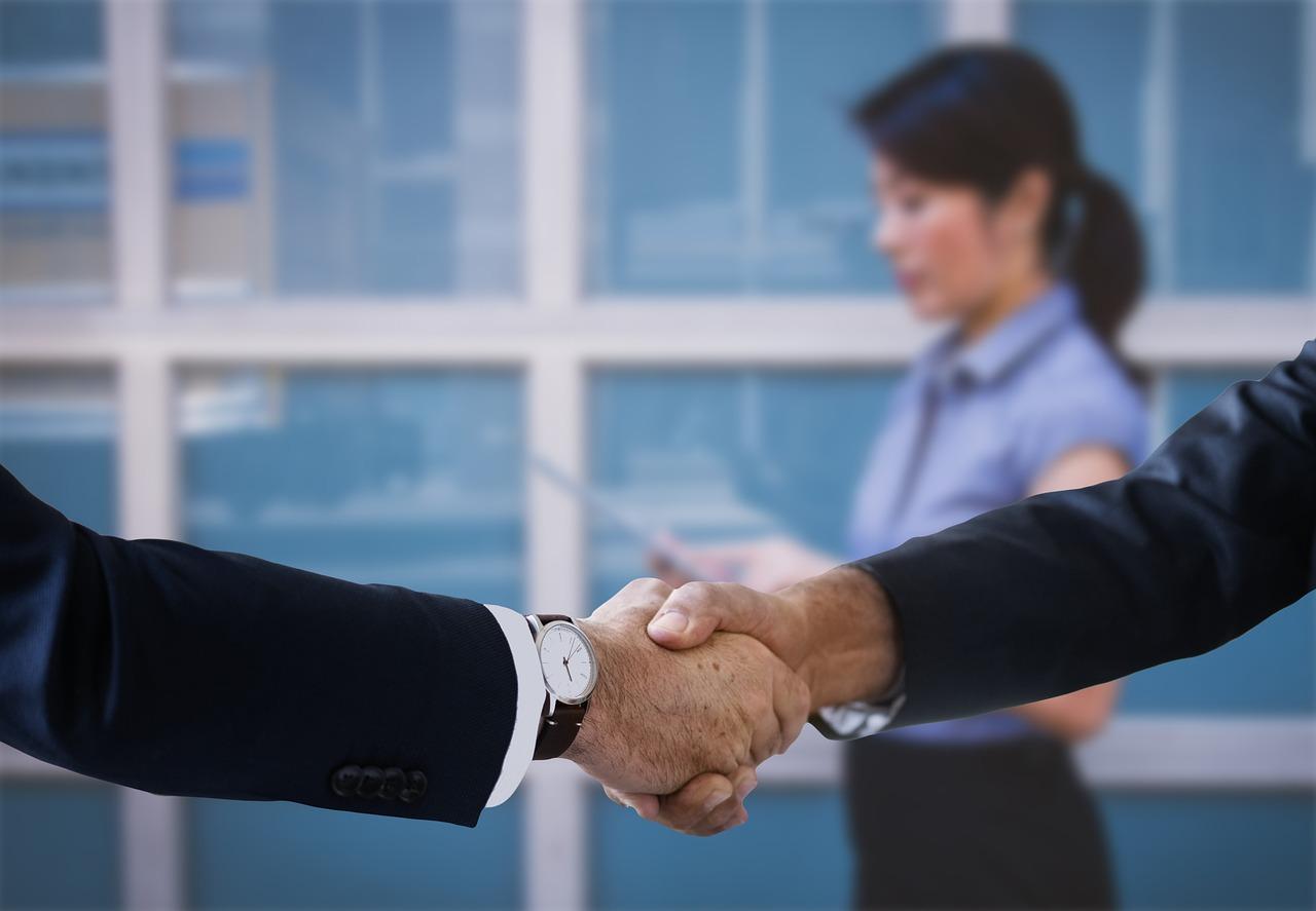 Shaking Hands Handshake Boss - Free photo on Pixabay