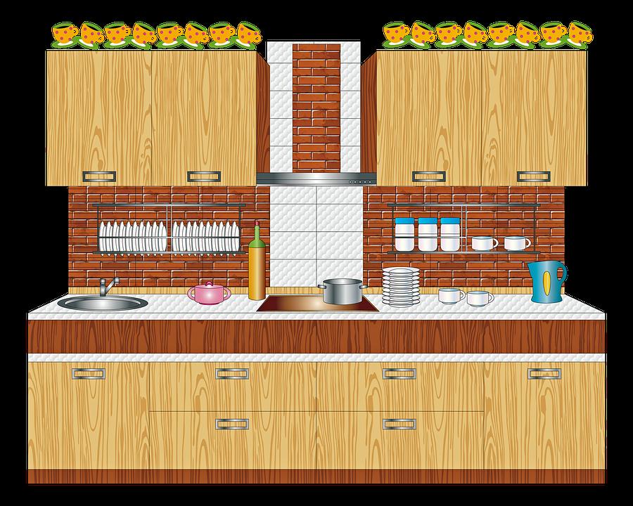 Diseño De Cocina Madera Ladrillo · Imagen gratis en Pixabay