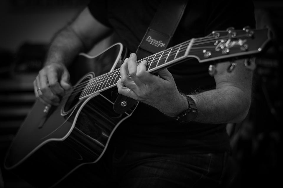 Acordes en guitarra
