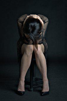 Woman, Despair, Loss, Cover, Sadness