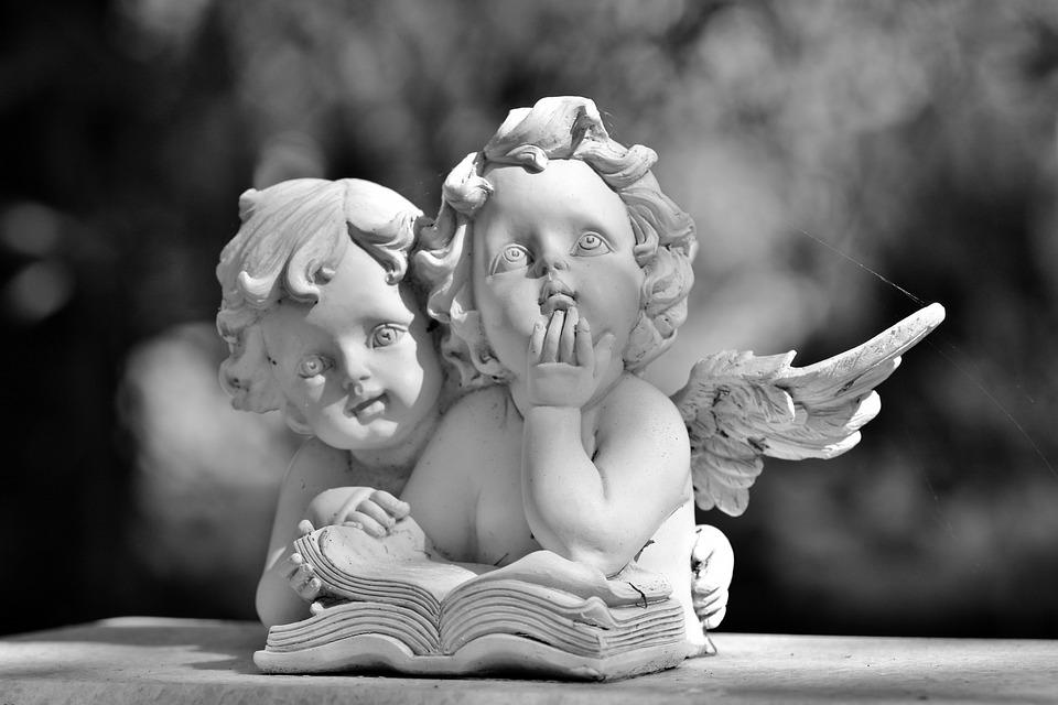 Angel, Figure De L'Ange, Sculpture, Statue, Aile