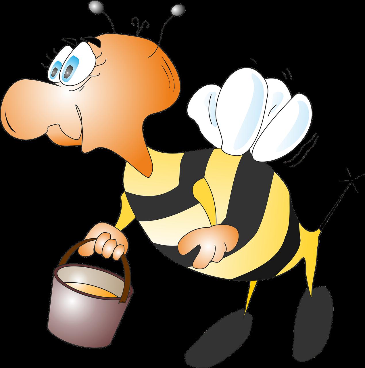 Картинки прикольные с пчелами