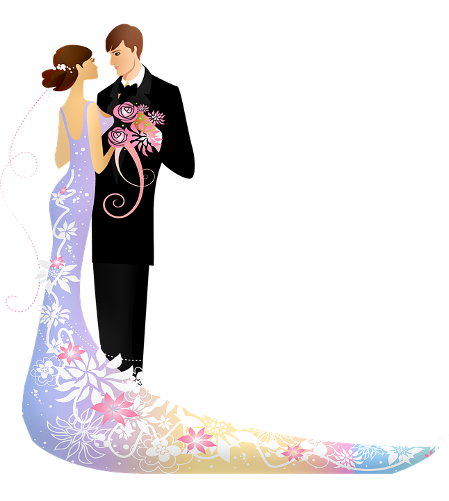 Wedding Couple Clipart Png: Wedding Couple Man And Wife
