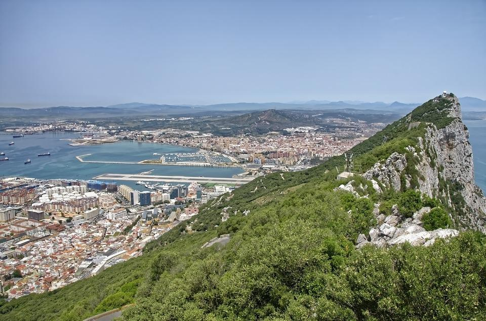 Gibraltar, Panorama, Rock, Monkey Rock, Landscape, View