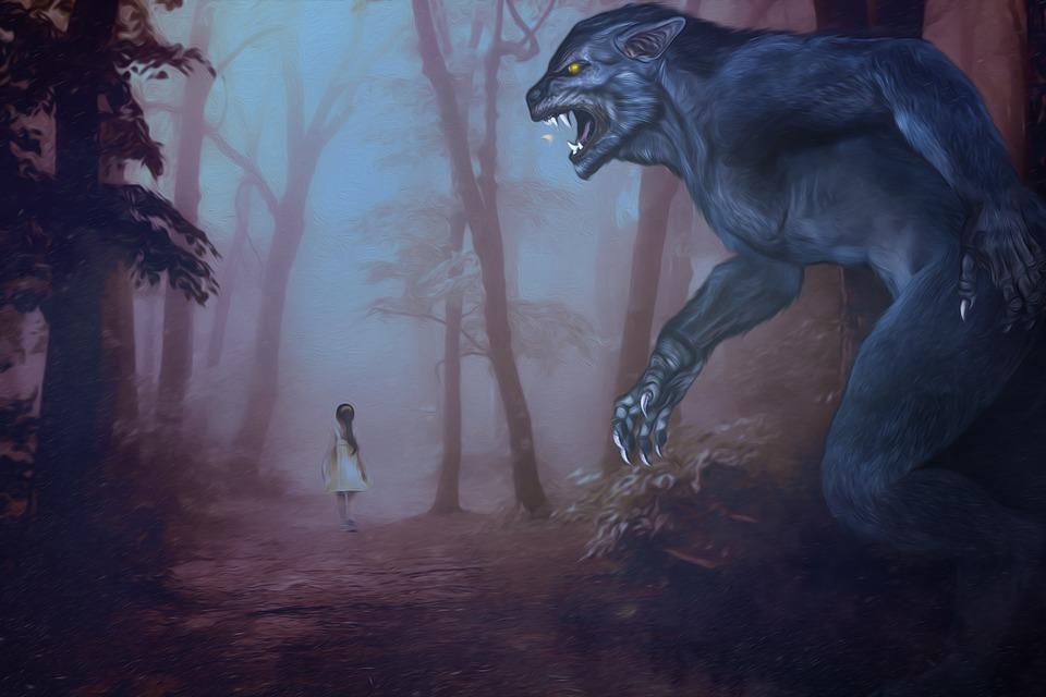 Halloween2019, Halloween, Werewolf, Child, Forest