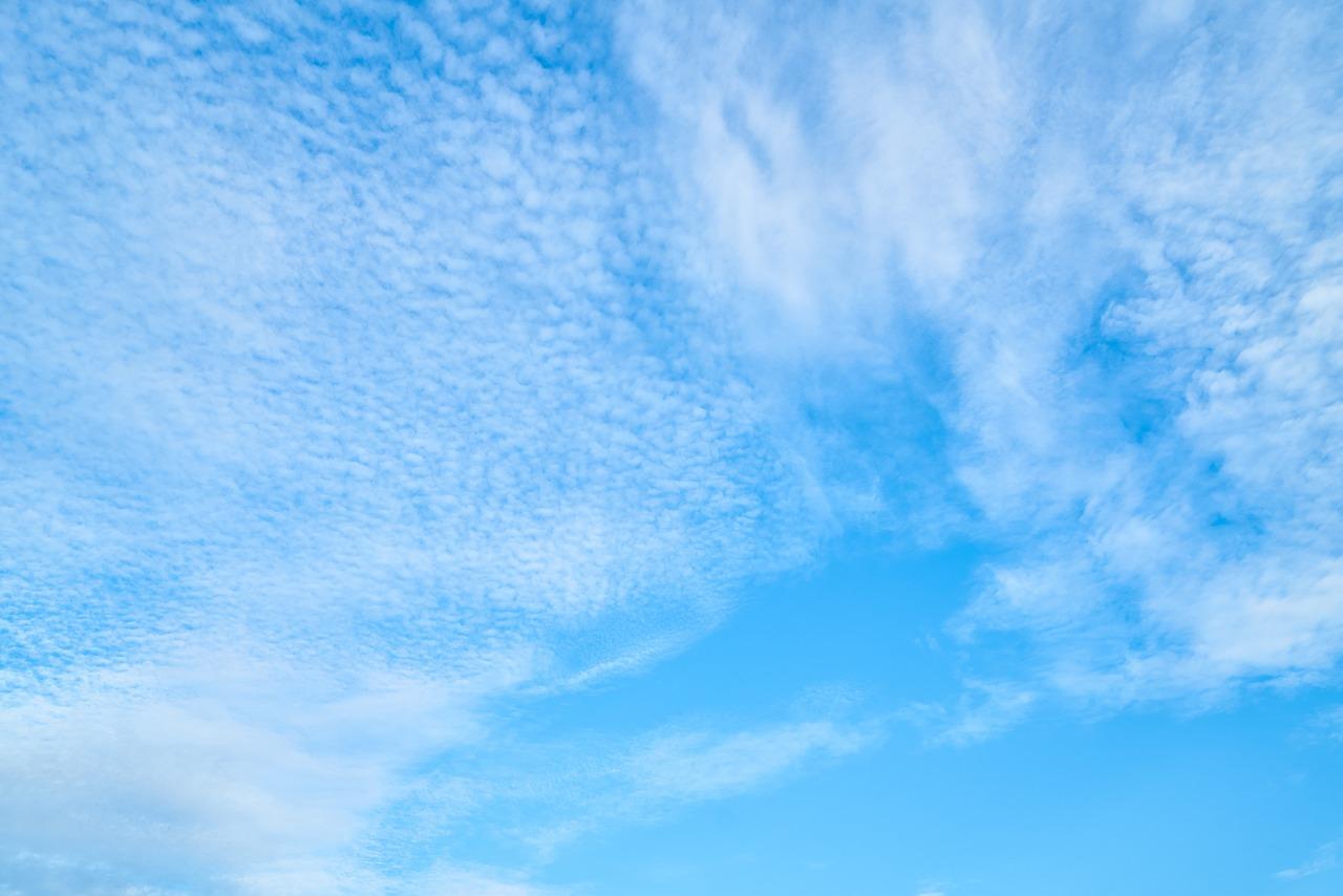 Картинки небо светло голубое