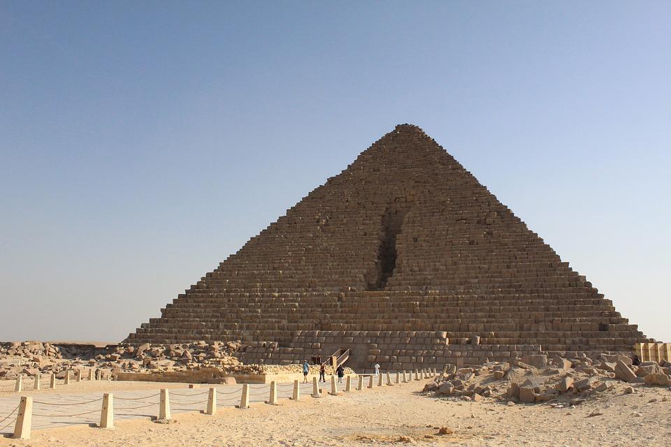 Египет, Пирамиды, Пустыня, Песок, История, Каир, Небо