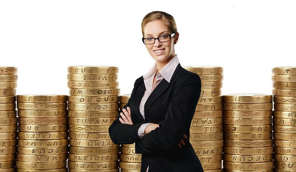 現金, ビジネス女性, Professional, スーツ, エレガント, 女性, 人, ビジネス