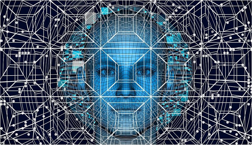 技術,人工智能,大腦,控制