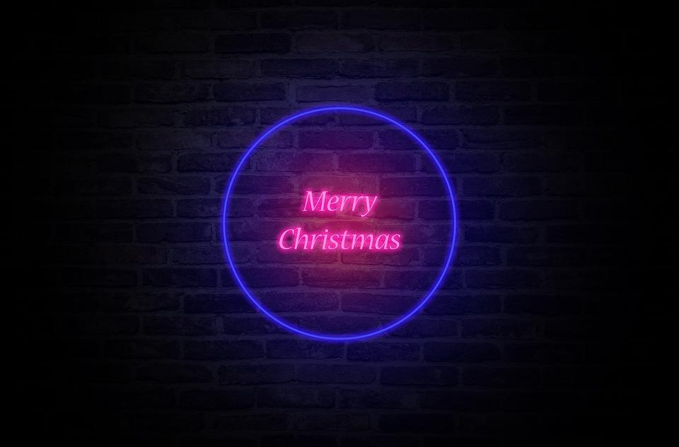 Frohe Weihnachten Text Karte.Frohe Weihnachten Wunsche Neon Kostenloses Bild Auf Pixabay