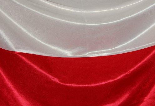 Flaga Polski, Biało - Czerwona