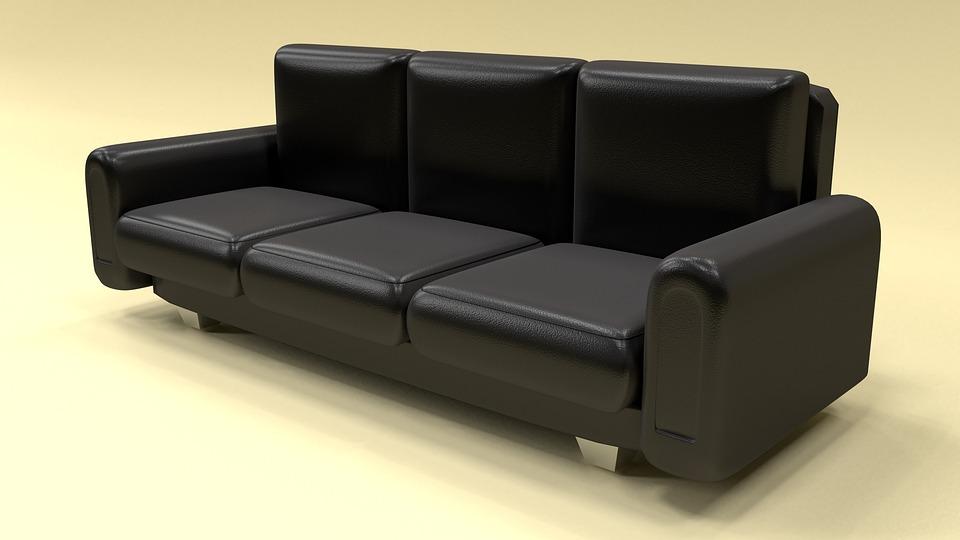Leather Sofa Furniture Home Modern - Free photo on Pixabay