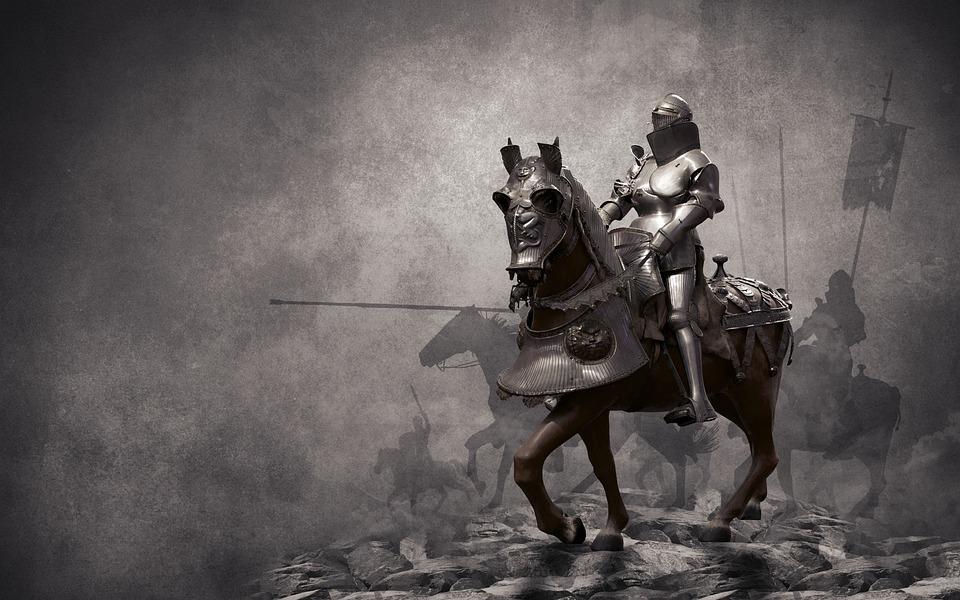 Krieger Ritter Mittelalter Kostenloses Foto Auf Pixabay