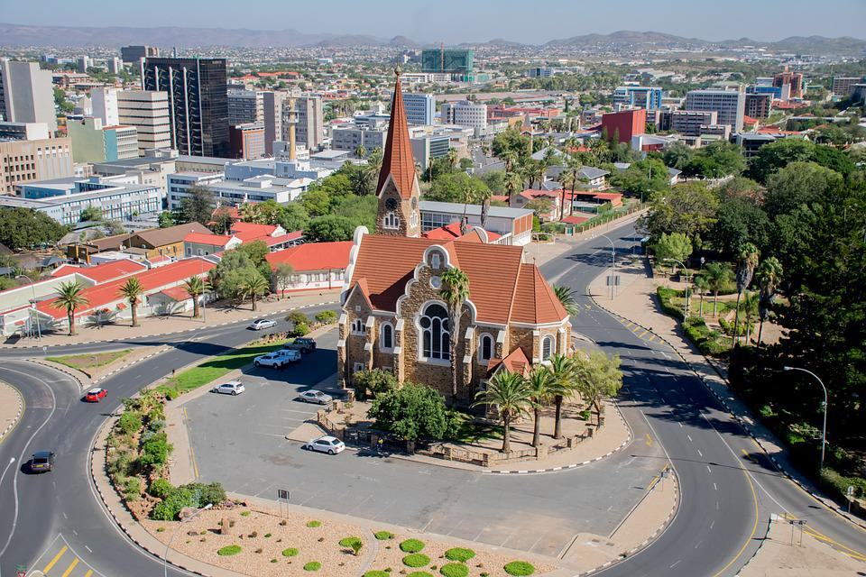 Église, Namibie, Windhoek, L'Architecture, Bâtiment