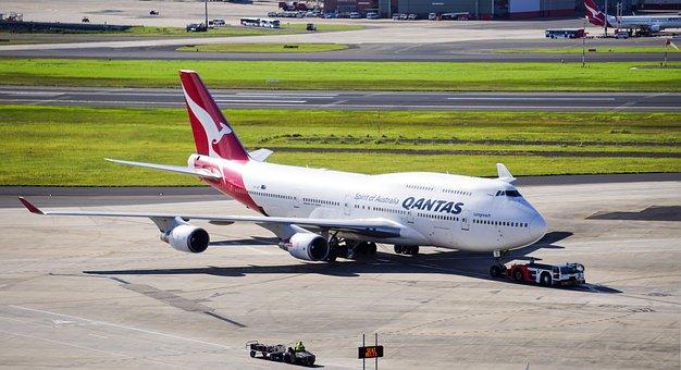 Qantas, 747, Boeing, Passenger