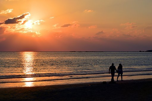 Abendstimmung, Afterglow, Sunset