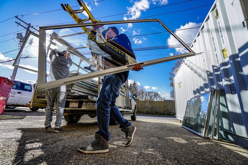 Glas Werk, Werknemers, Het Dragen Van Glas