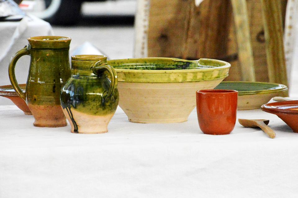 pottery in medieval times