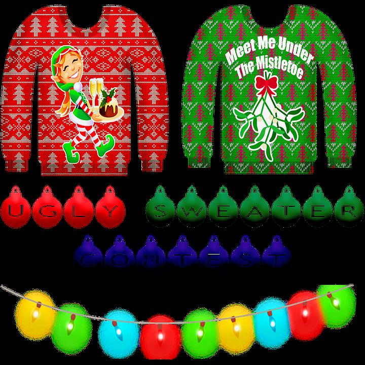 Gratis Kersttrui.Ugly Sweater Kerst Van Gratis Afbeelding Op Pixabay