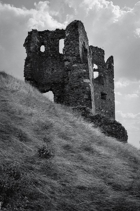 Ruins Castle Blue Free Photo On Pixabay